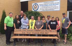Mr. Fratrich's Memorial Bench